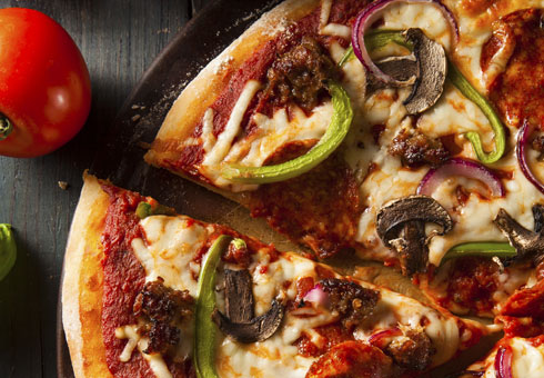 Pizza. Italian Pizza Factory, Birmingham