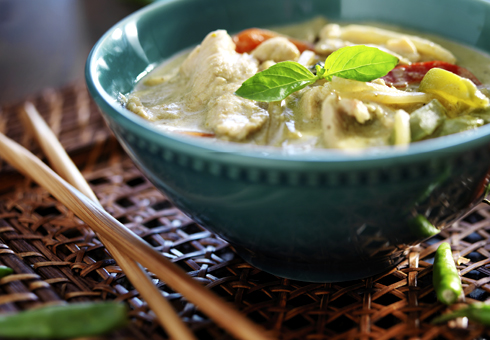 Thai Green Curry. Thai Go