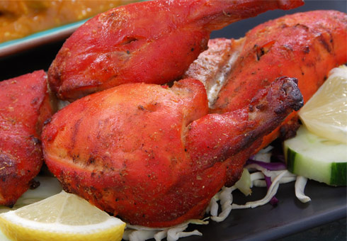 Balti Massala, Aintree, tandoori chicken