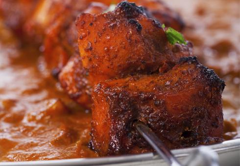 Tasty tandoori chicken