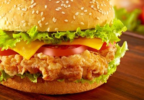 Marios Pizzacasa Studley crispy chicken fillet burger