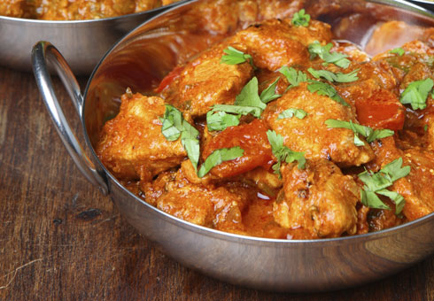 Little Indian Wirral chicken balti made with fresh breast chunks