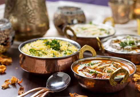 Brinjol, Weedon Bec, curries and rice
