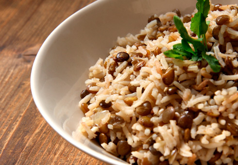 Turmeric Bristol rice side dish