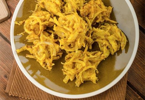 Grameen Spice, Southampton, onion bhajis