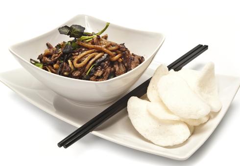 Mu Yang Chinese Restaurant Islington noodle dish
