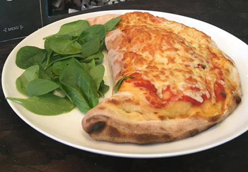 Calzone. Olive Tree, Dudley.