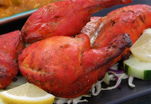 Cheriton Balti, Folkestone, tandoori chicken