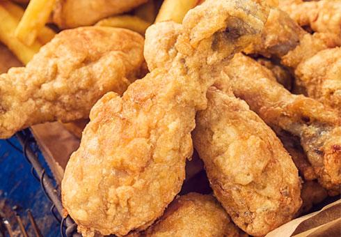 Atlantic Fish Bar, Harlow, delicious chicken options