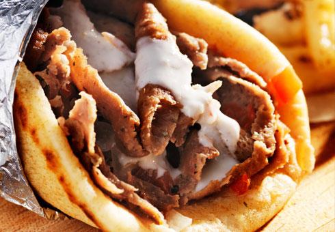 Atlantic Fish Bar, Harlow, delicious kebab options
