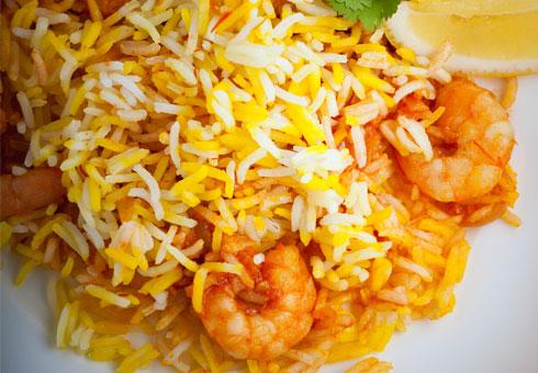 Bombay Spice, Ware, biryani