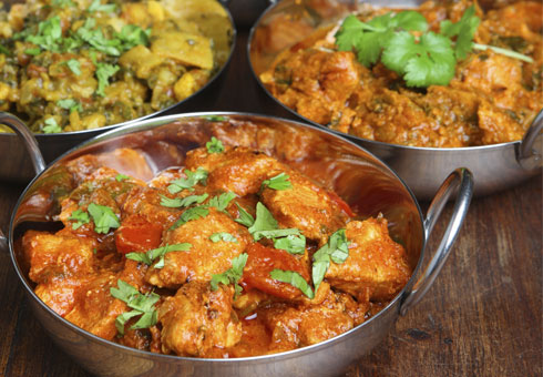 Akash, Swanscombe, curries and rice